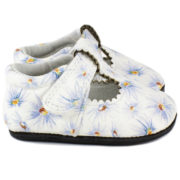 daisy floral t-strap